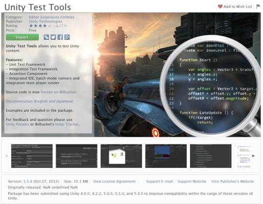 Unity Test Tools