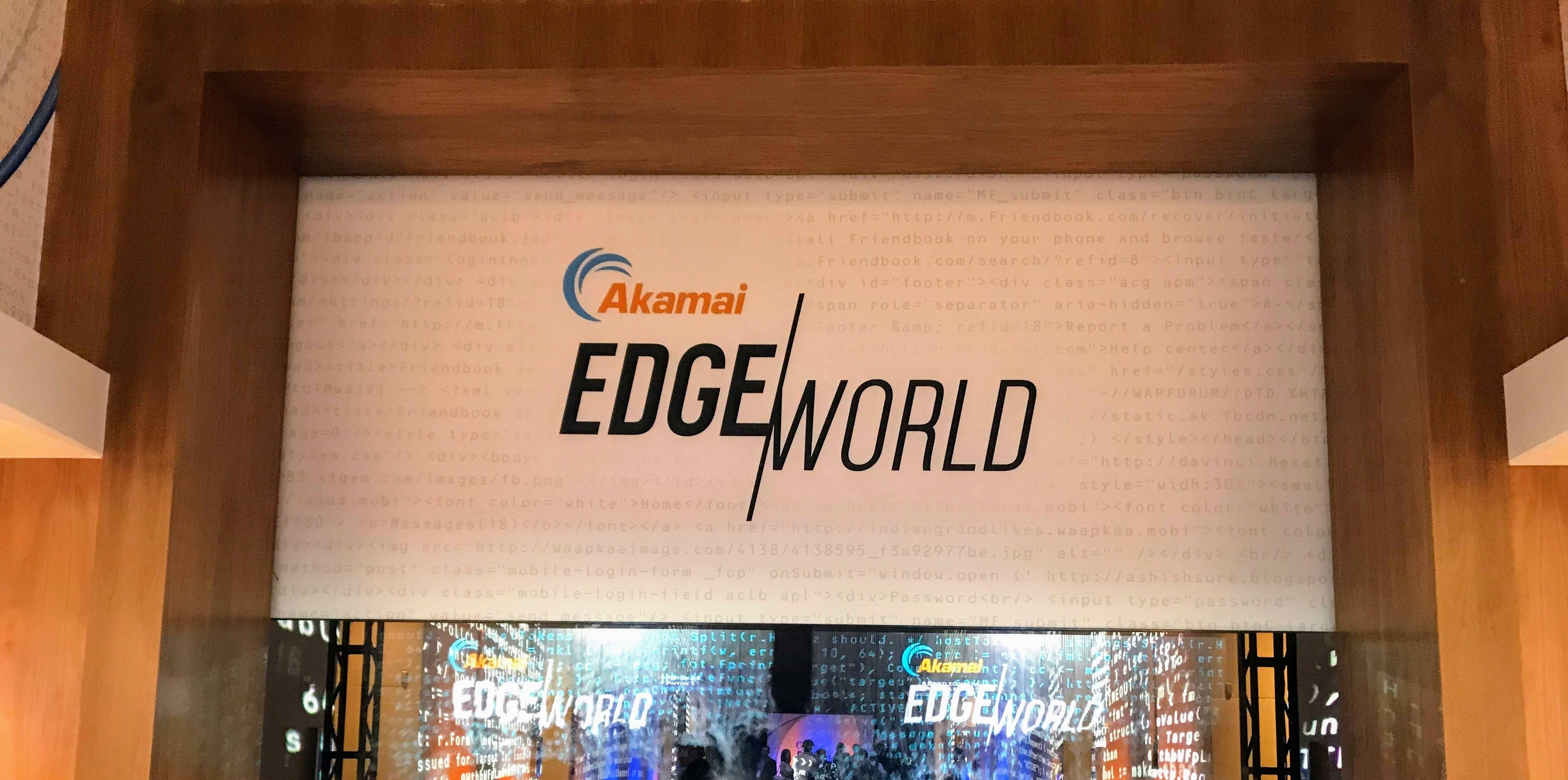 Akamai Edge World 2019 に参加してきました