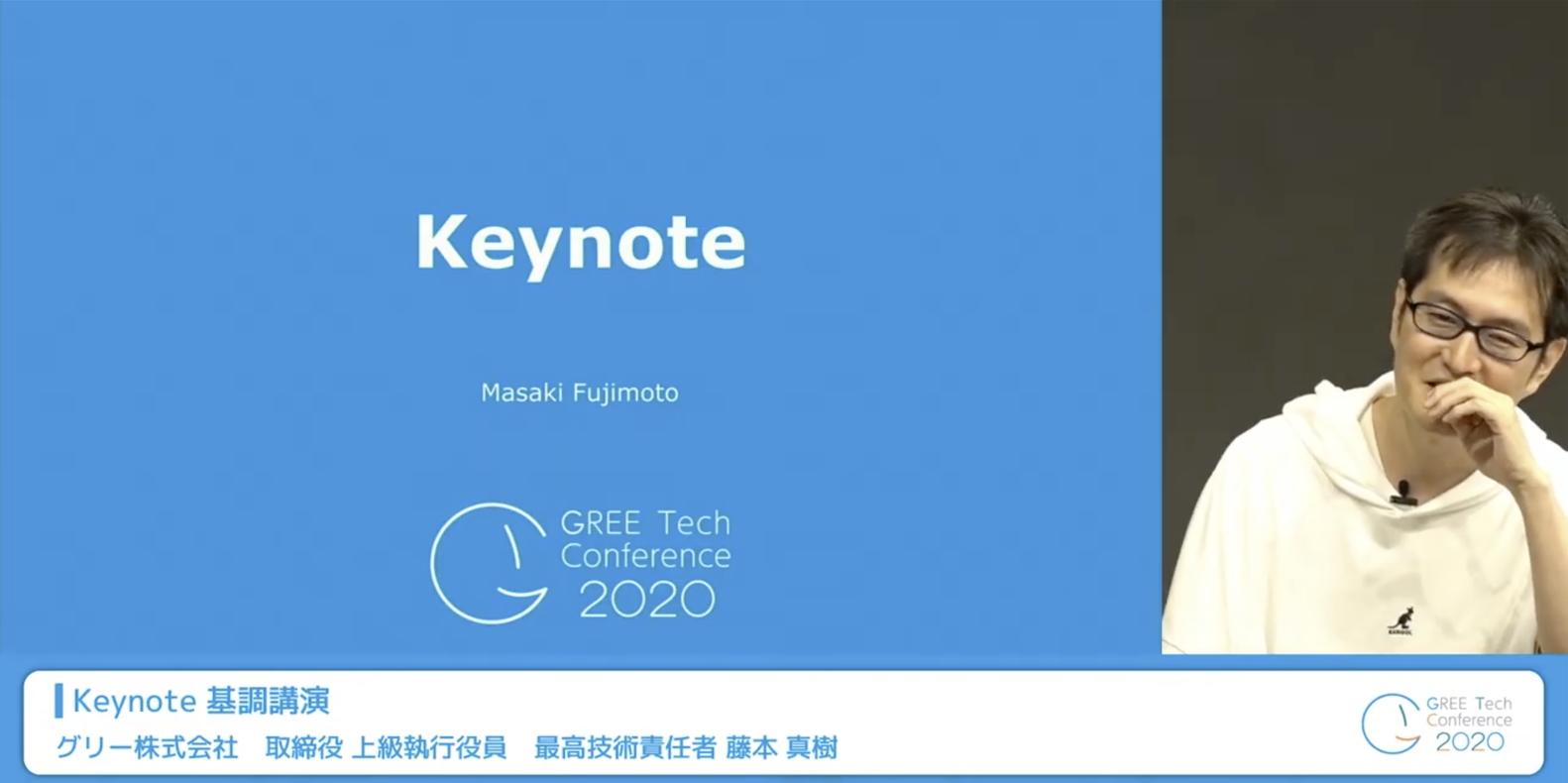 GREE Tech Conference 2020 ご参加ありがとうございました